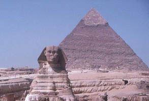 Píramide e Esfinge - Egito